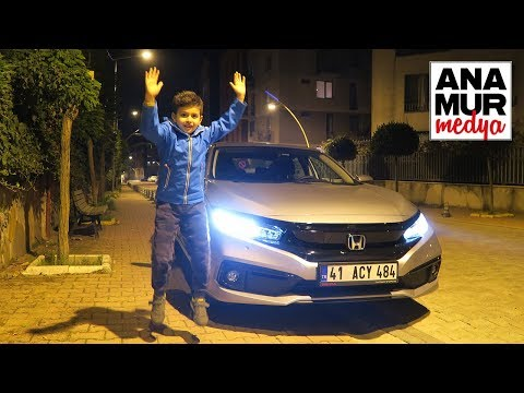 Honda Civic Sedan Eco LPG 2019 Gece Baba Oğul Test