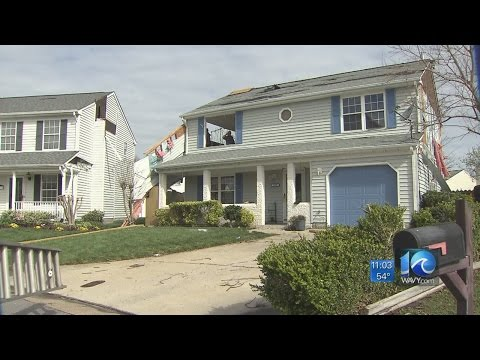 Tornadoes touch down in Chesapeake, Virginia Beach
