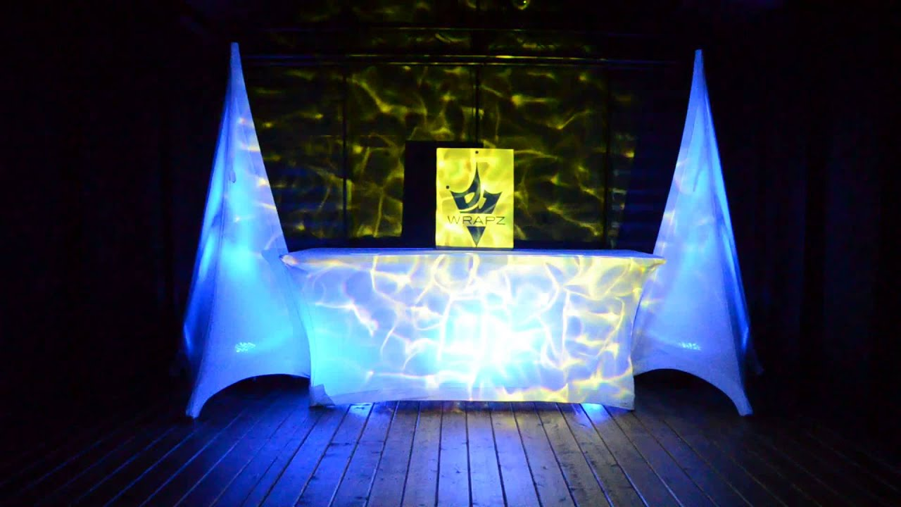 Showtec Led Par 56 Short With Dj Wrapz Speaker Stand