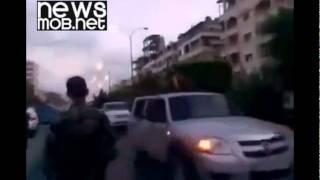 Syrian Army Celebrate in Latakia