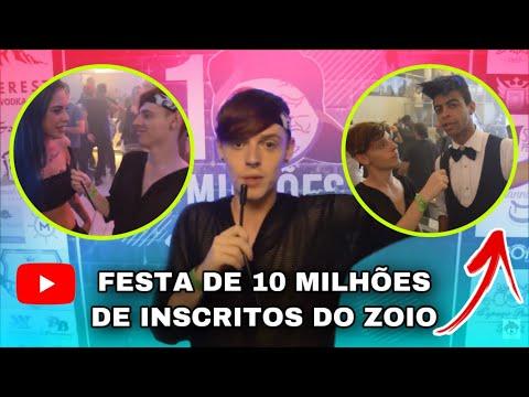 10 MILHÕES DO ZOIO (ft. TATI ZAQUI, IRMÃOS BERTI, LUIS MARIZ, BRUNO VLOGS e muito + ) Canal do Ruivo thumbnail