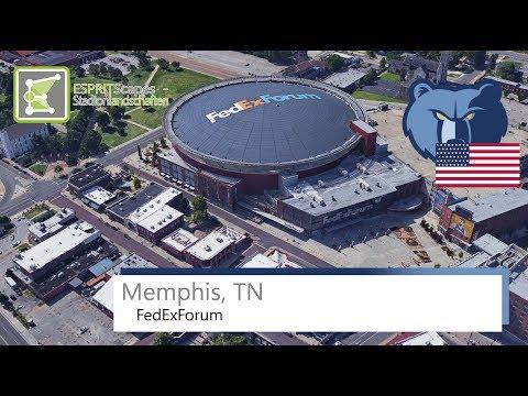 Memphis, TN - FedExForum / 2016