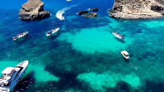 4K Blue Lagoon Comino Malta DJI Phantom 4