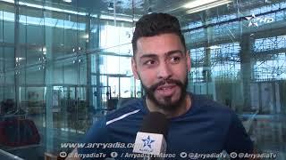 ربورتاج الرياضية|الدوحة| عملية العلاج الطبيعي للاعبا الرجاء الرياضي بنحليب و عمر بوطيب