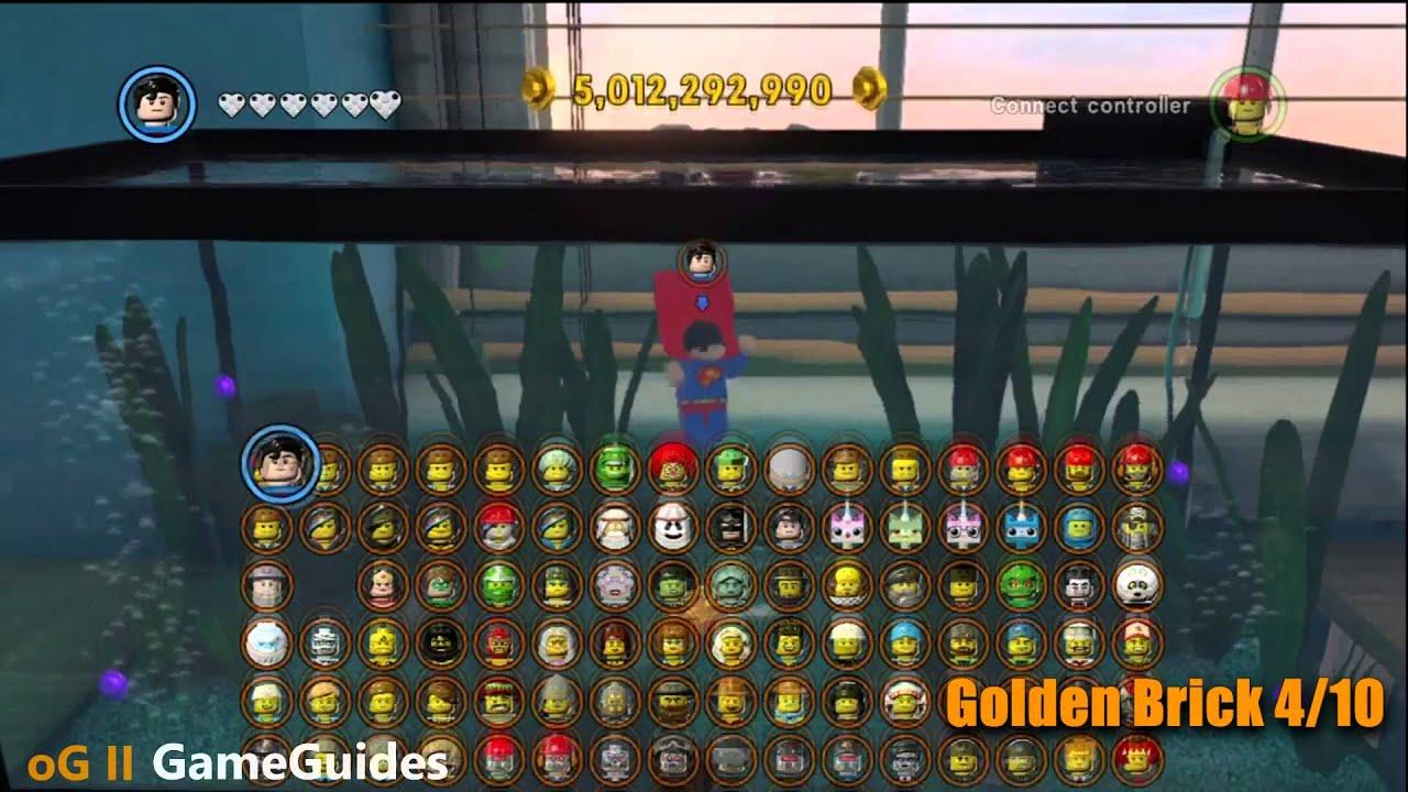 100 The Bonus Room All Gold Bricks The Lego Movie .