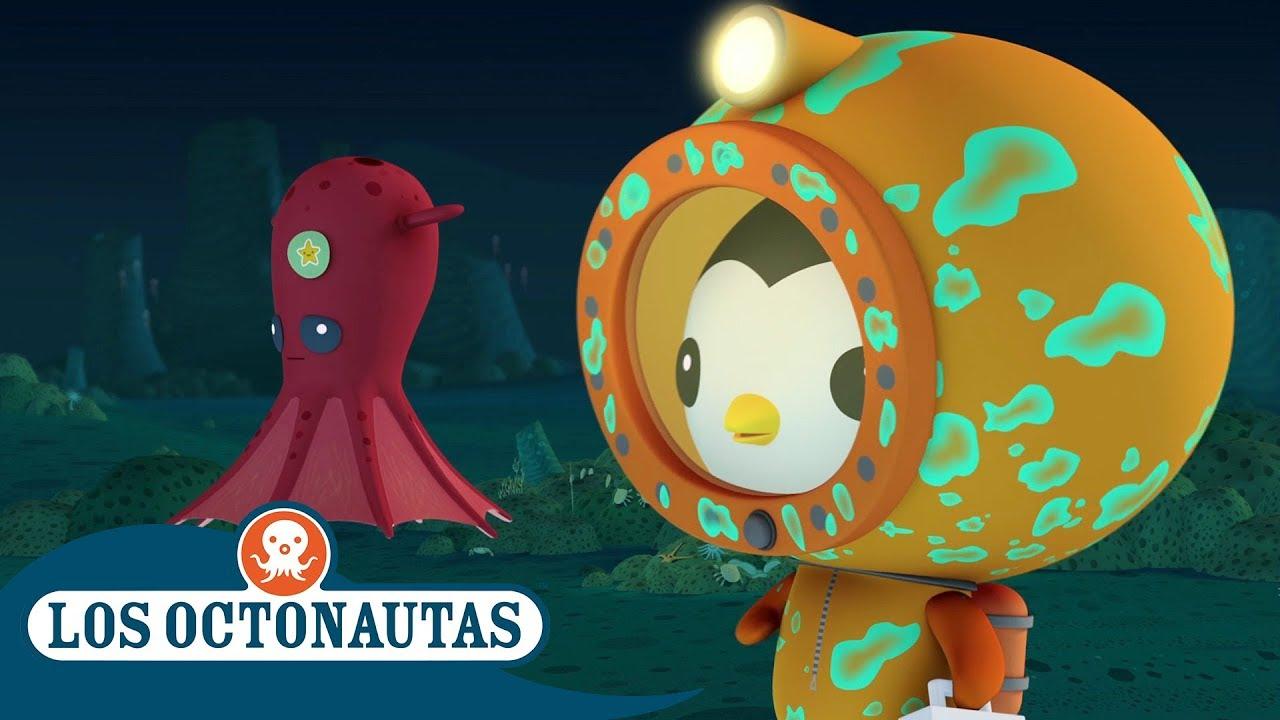 Los Octonautas Oficial en Español - La misterioso calamar vampiro | Episodios completos