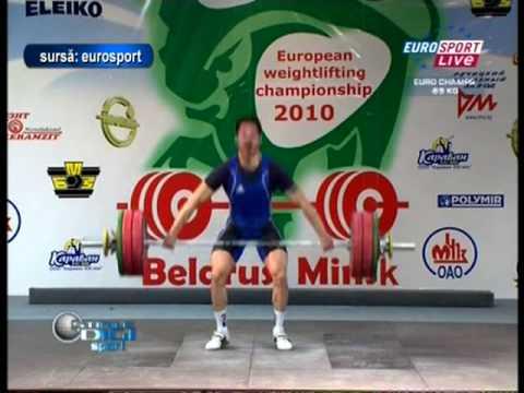 Haltere: Ninel Miculescu, triplu campion european!