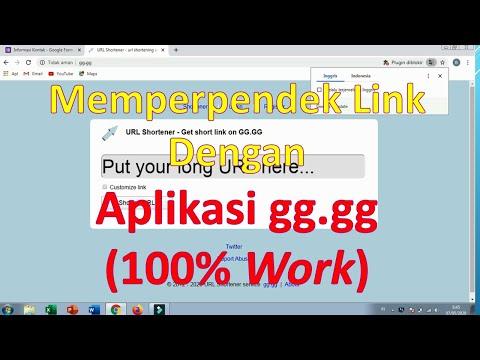 Cara Memperpendek Link Dengan Aplikasi Gg Gg Youtube