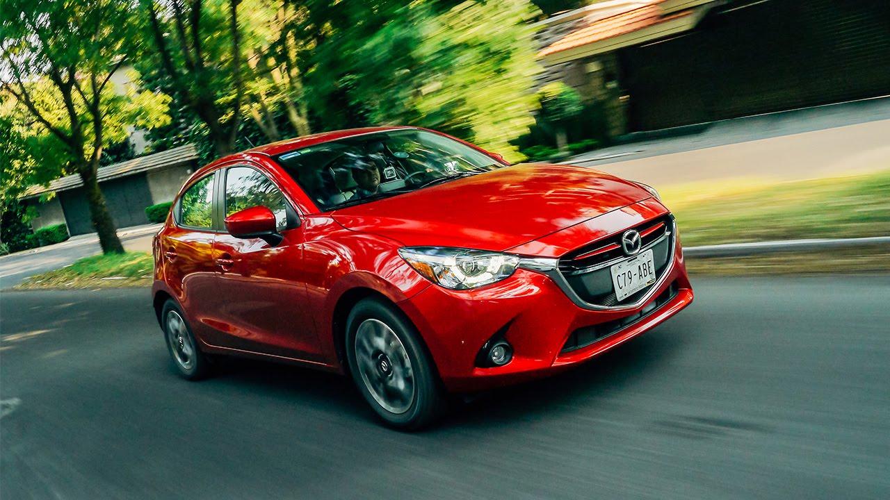 Mazda 2 Sedan Vs Hatchback >> Mazda2 2016 a prueba   Autocosmos - YouTube