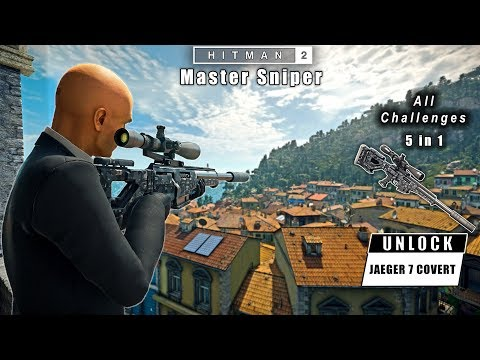 HITMAN 2 - Master Sniper Challenges Pack All In One | Silent Assassin Suit Only