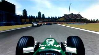 F1 2001 Gameplay at Barcelona, Spain