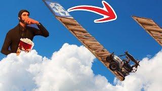 Extreme GOLF CART Tracks In Fortnite Battle Royale!! ft. Lachlan , Vikkstar123 , Tinny