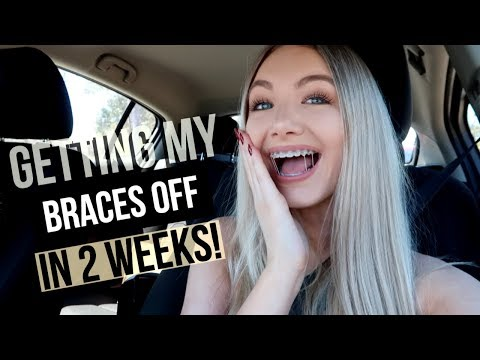 MY LAST BRACES UPDATE :(  | Getting Power Chains!