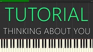 Hardwell ft. Jay Sean - Thinking About You (Piano Tutorial)