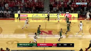 Highlights: Miss Valley State at Nebraska Cornhuskers | Big Ten Basketball