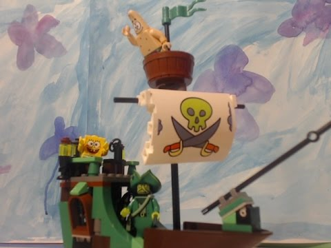lego spongebob shanghaied PART 1