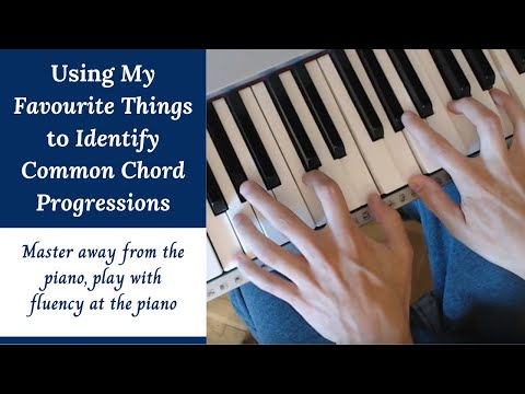 My Favourite Things - Tutorial | Common Chord Progression Identification