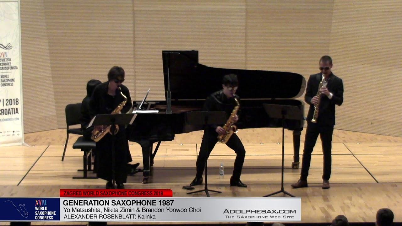 Kalinka by A.Rosenblatt - Nikita ZImin, Yo Matsushita & Brandon jinwoo Choi -XVIII WSC2018