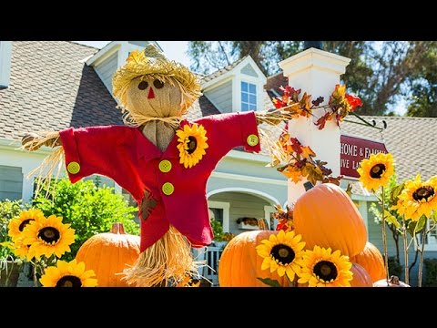 How To - Ken Wingard's DIY Scarecrow - Hallmark Channel