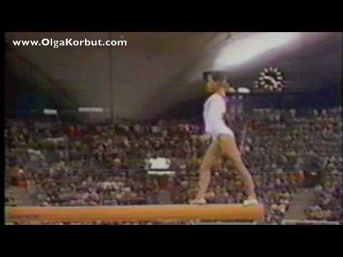 Olga Korbut Balance Beam 1972 Olympics Youtube