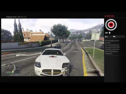 Fuckin around in GTA 5 online