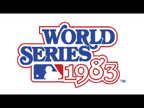 1983 World Series Game 1 - Phillies vs Orioles - YouTube