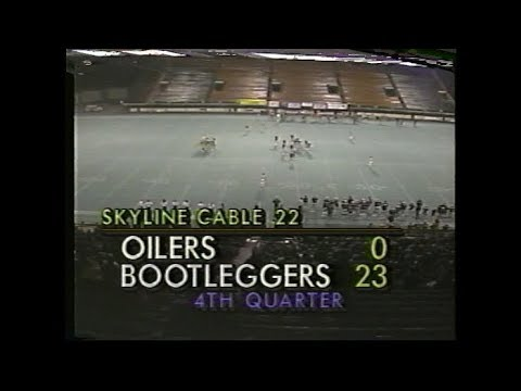 Randolph Oilers at Ottawa Bootleggers 1990