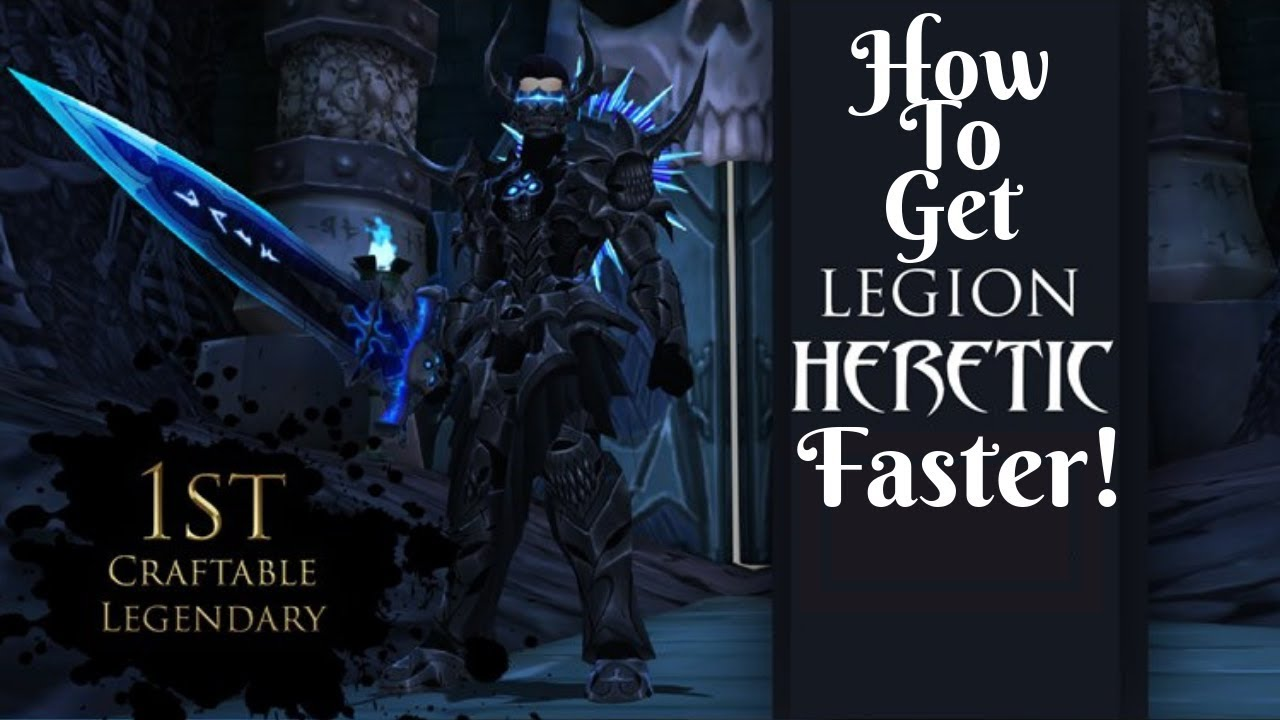 Download : AQ3D FASTEST Way To Get Legion Heretic Armor Set