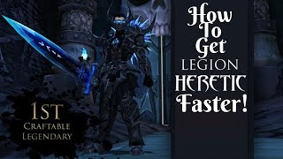 AQ3D FASTEST Way To Get Legion Heretic Armor Set! AdventureQuest 3D