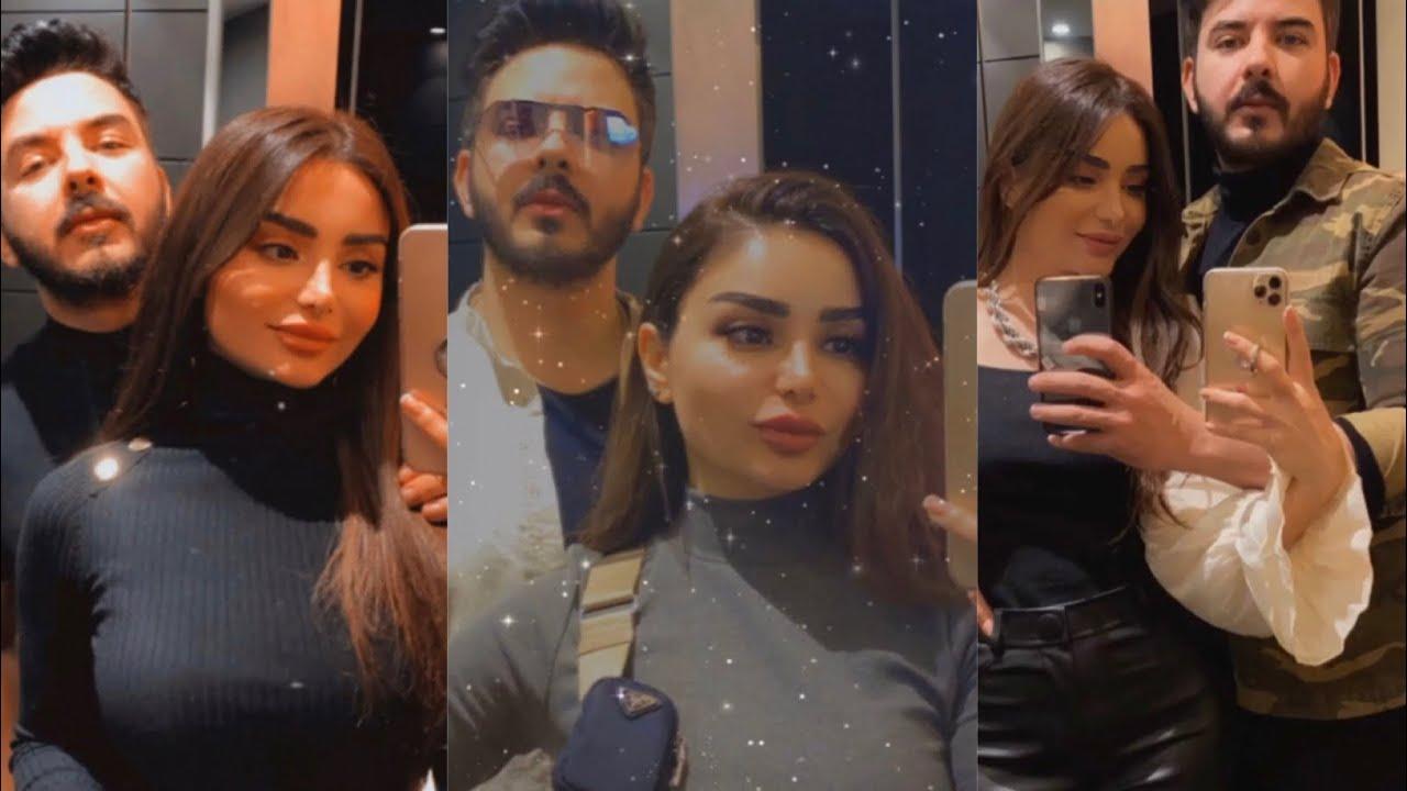 هيفاء حسوني وبكر خالد اول لقاء لهم بعد الزواج عل MBC