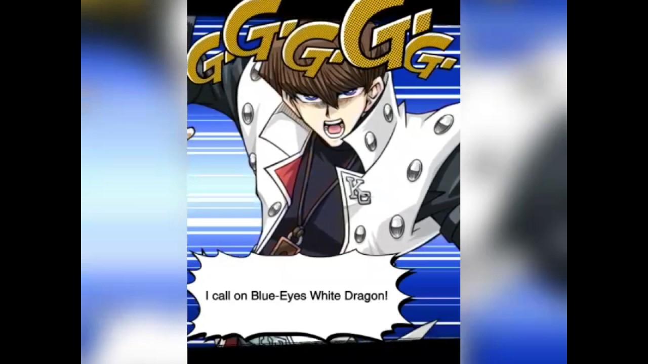 yu gi oh duel links blue eyes white dragon summon youtube
