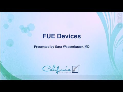 Dr. Wasserbauer Discusses the various FUE Devices