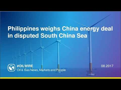 Philippines weighs China energy deal in disputed South China Sea