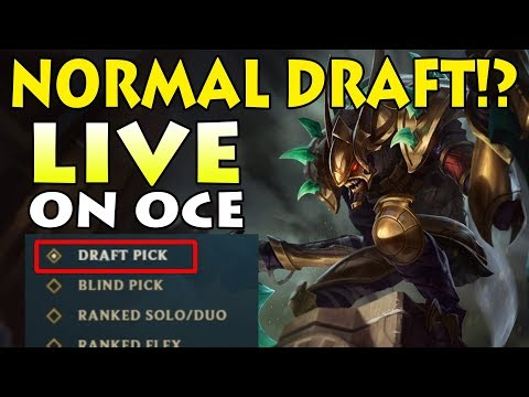 NORMAL DRAFT!? WHAT THIS MEANS FOR FUTURE NORMAL GAMES: Ft. Kha'zix Jungle Full Game