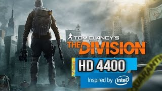 Tom Clancy's The Division beta 1.1 - Intel HD 4400 - Surface Pro 2 /3 i5