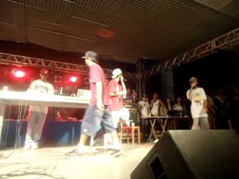Falo Nada (FALADOR PASSA MAL) Cone Crew Diretoria no Clube Regatas SP 17/12/11