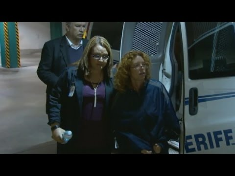 Tonya Couch Arrives at Tarrant County Jail