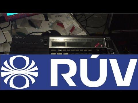 Longwave DX: Gufuskalar, Iceland 189 kHz, clear signal on Sony ICF-2001D