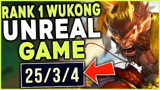 *NEW* WUKONG REWORK RIDICULOUS STOMP (UNREAL MECHANICS) - League of Legends