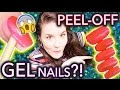 Peel-off GEL nails?! I TEST THINGS FOR U