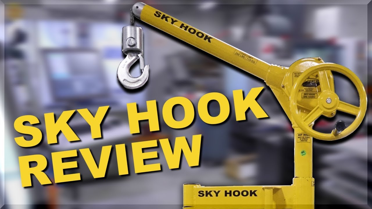I Hope This Crane Is Just Hiding Other >> Machine Shop Crane Sky Hook Review Youtube