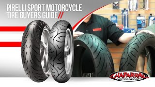 Pirelli Sport Motorcycle Tire Buyers Guide Featuring Pirelli Angel St and Sport Demon