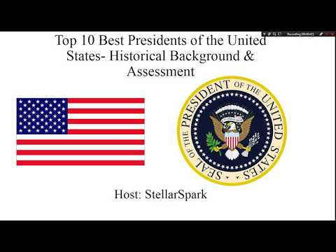 Top 10 Best Presidents of the United States