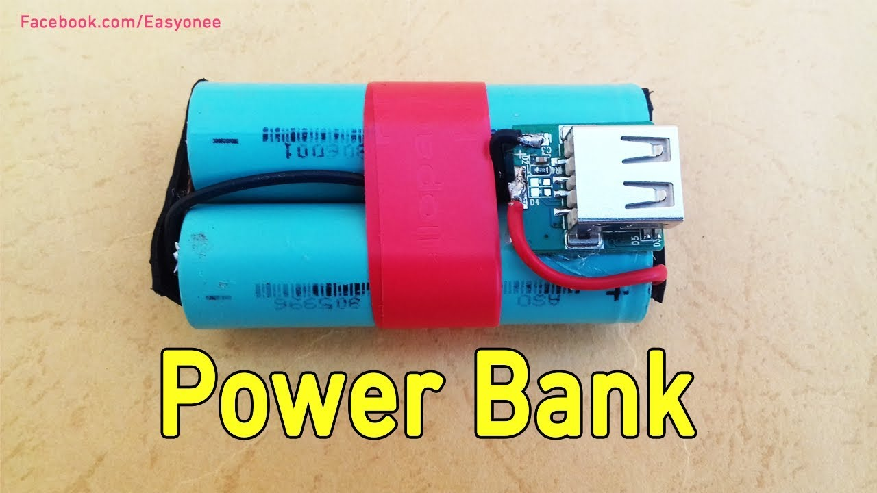 Diy Power Bank How To Make A Simple Power Bank Diy