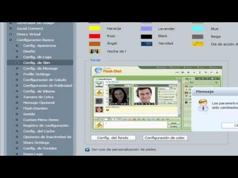 Como Cambiar Su Skin Y Color De Su 123 Flash Chat
