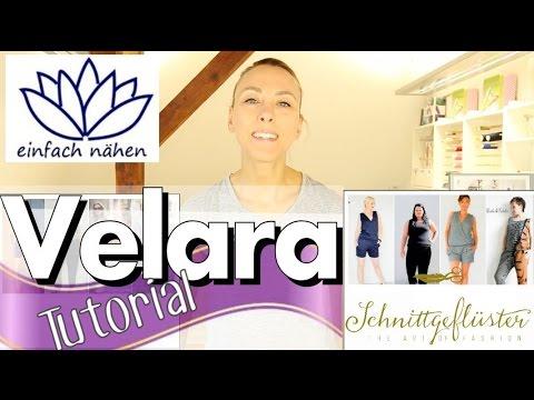 """Hose nähen Schritt für Schritt (""""Velara"""" von Schnittgeflüster)  – Tutorial von einfach nähen"""