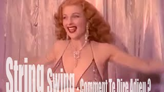String Swing - Comment Te Dire Adieu? - Unofficial music video