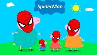 #Peppa Pig #Spider-Man #Peppa Pig Family \ #Finger Family and More