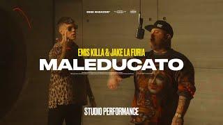 Смотреть клип Emis Killa & Jake La Furia - Maleducato