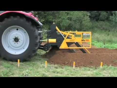AFT 100 Trials tractor mounted trencher http://www.trenchers.co.uk